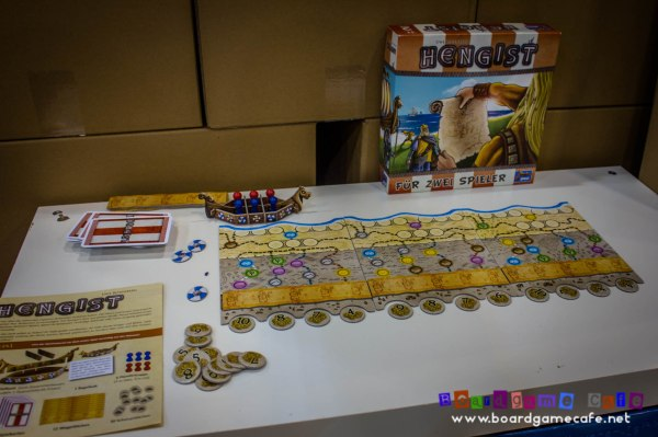 Lookout's latest 2-player game HENGIST from Uwe Rosenberg