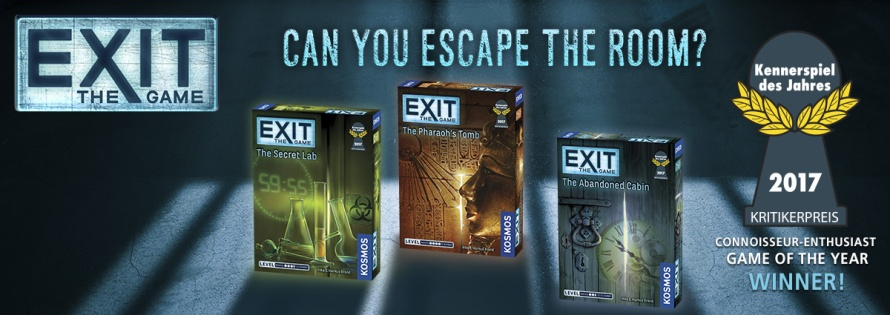 EXIT The Game: 2017 Knnerspiel des Jahres Game of the Year Winner