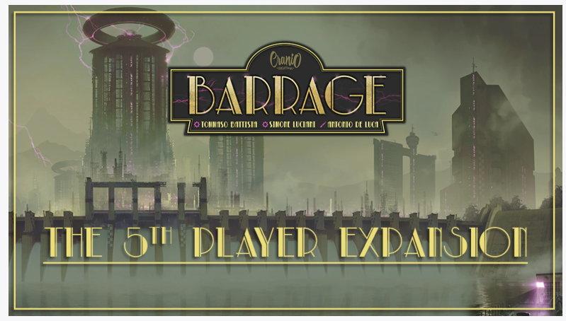 Barrage 5th Player Expansion Kickstarter